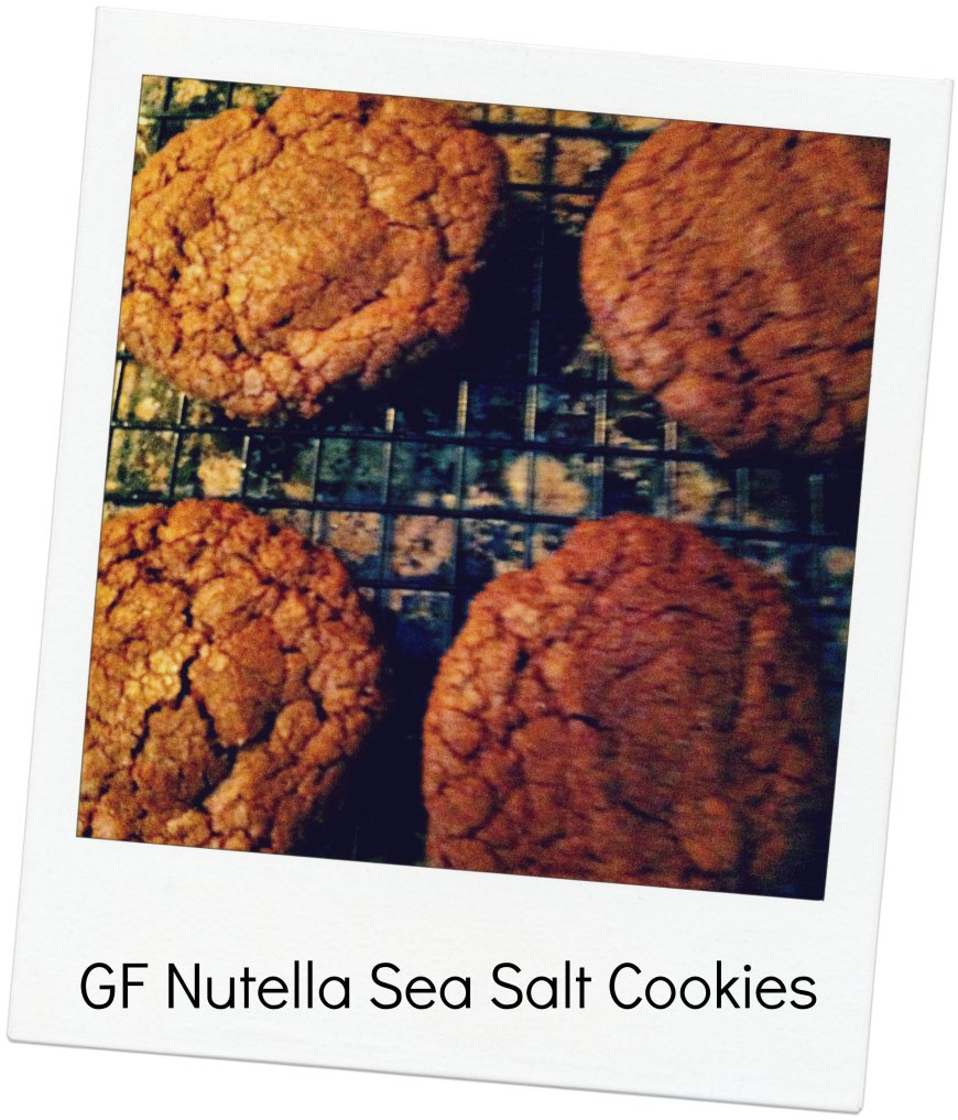 GF NUTELLA SEA SALT COOKIES